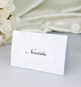 Svatební jmenovka J2055