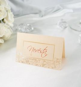 Svatební jmenovka JF01
