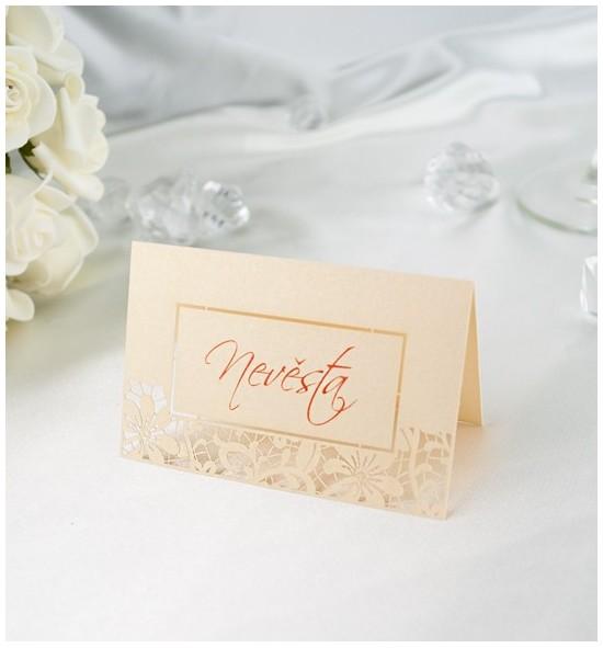 Svatební jmenovka J2121A