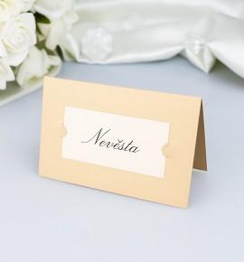 Svatební jmenovka JF06