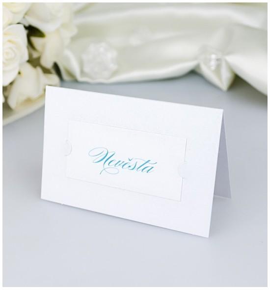 Svatební jmenovka J2127