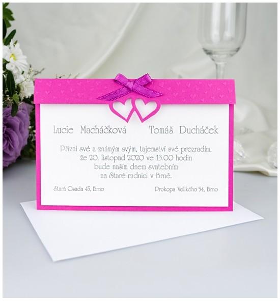 Svatební oznámení G2011
