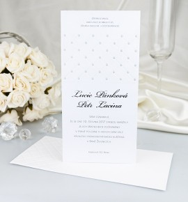 Svatební oznámení G2053B