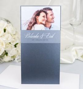 Svatební oznámení s fotografií - GF2123
