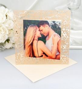 Svatební oznámení s fotografií - GF04