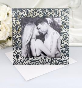 Svatební oznámení s fotografií - GF2124B