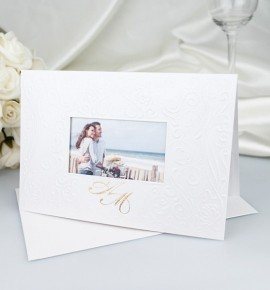 Svatební oznámení s fotografií - GF05