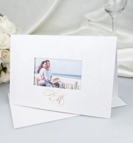 Svatební oznámení s fotografií - GF2125