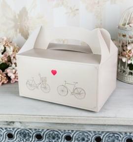 Svatební krabička na výslužku K2063