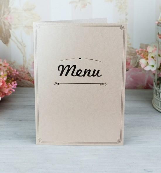 Svatební menu M2063