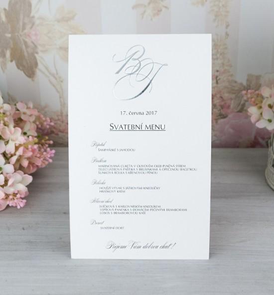 Svatební menu M2074