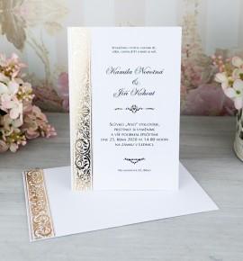 Svatební oznámení G2064A