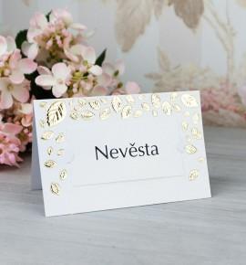 Svatební jmenovka J2072