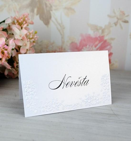 Svatební jmenovka J2073