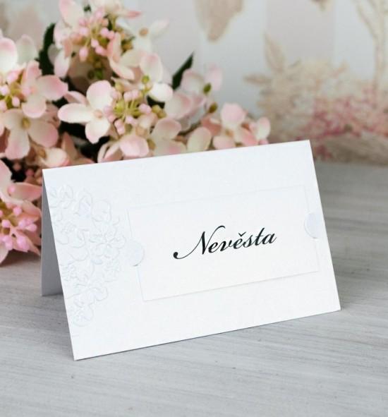 Svatební jmenovka J2086
