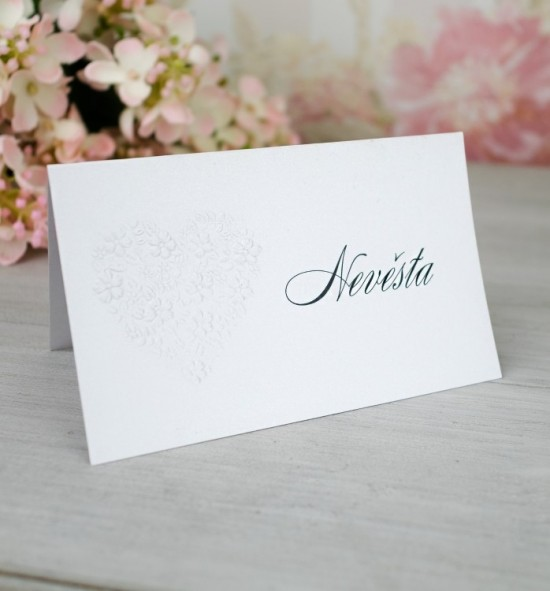 Svatební jmenovka J2087
