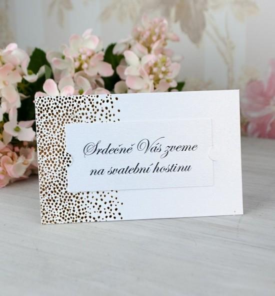Pozvánka ke svatebnímu stolu P2062
