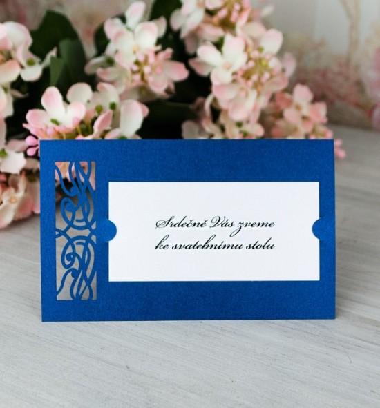Pozvánka ke svatebnímu stolu P2067B