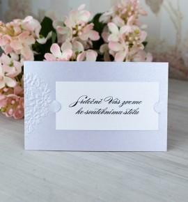 Pozvánka ke svatebnímu stolu P2086C