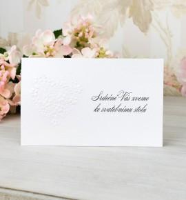 Pozvánka ke svatebnímu stolu P2087