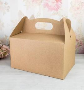 Svatební krabička na výslužku z recyklovaného papíru - K63-5000-10