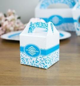 Svatební krabička na dárky/mandličky - K14-1001