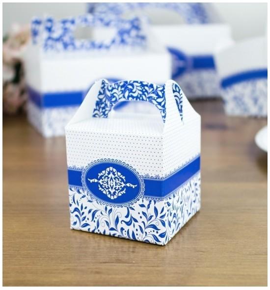Svatební krabička na dárky/mandličky - K14-1002