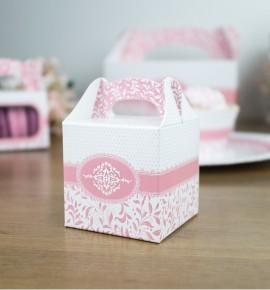 Svatební krabička na dárky/mandličky - K14-1003