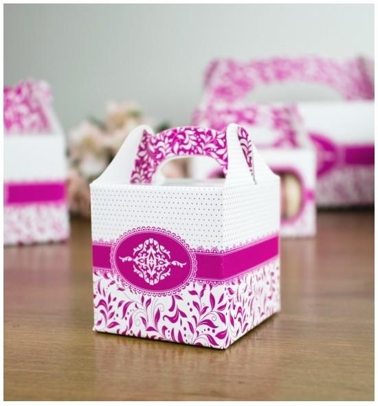 Svatební krabička na dárky/mandličky - K14-1004