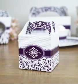 Svatební krabička na dárky/mandličky - K14-1006