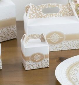 Svatební krabička na dárky/mandličky - K14-1007