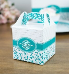 Svatební krabička na dárky/mandličky - K14-1010