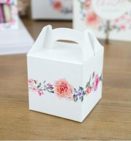 Svatební krabička na dárky/mandličky - K14-2089