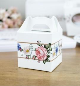 Svatební krabička na dárky/mandličky - K14-2091