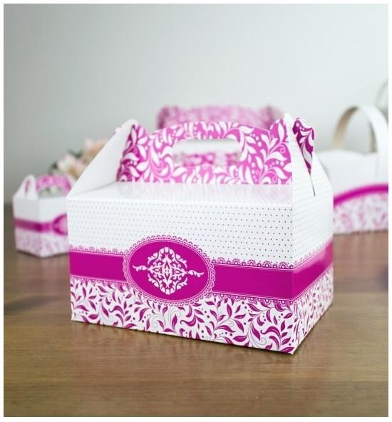Svatební krabička na výslužku - K33-1004
