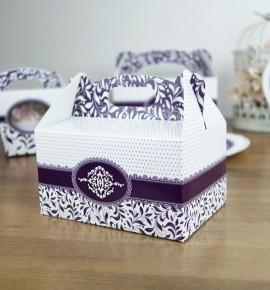 Svatební krabička na výslužku - K33-1006