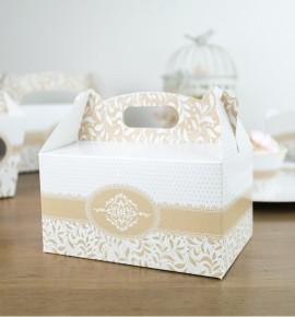 Svatební krabička na výslužku - K33-1007