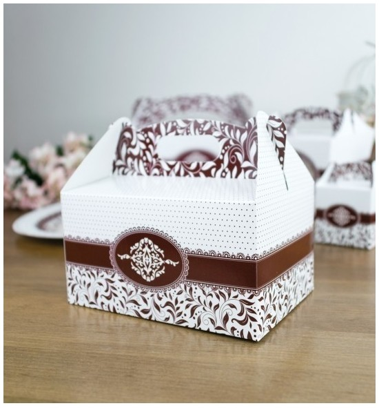 Svatební krabička na výslužku - K33-1009