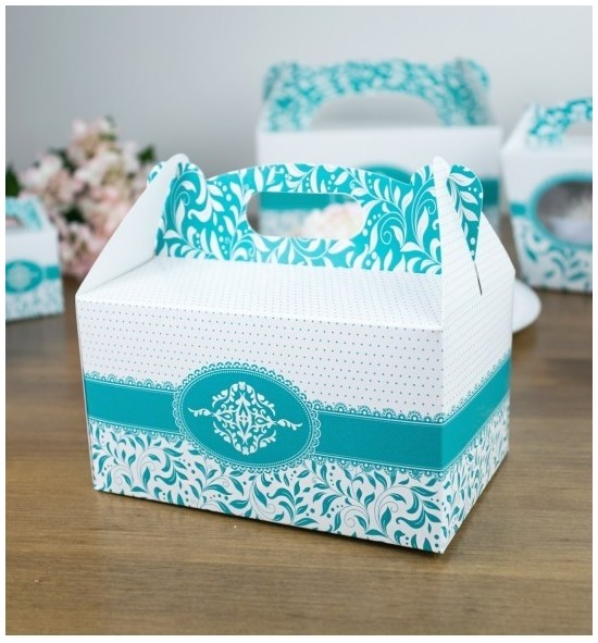 Svatební krabička na výslužku - K33-1010