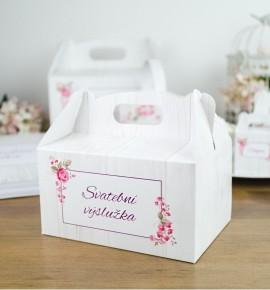 Svatební krabička na výslužku - K33-2090