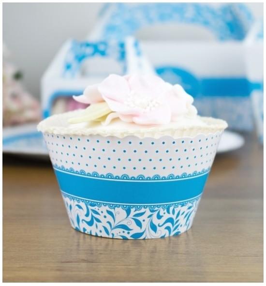 Svatební košíčky na cupcakes - CC1001