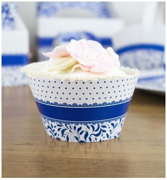 Svatební košíčky na cupcakes - CC1002