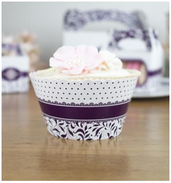 Svatební košíčky na cupcakes - CC1006