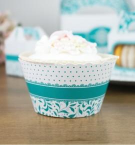 Svatební košíčky na cupcakes - CC1010