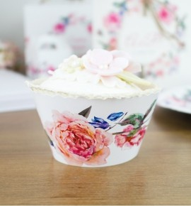 Svatební košíčky na cupcakes - CC2089