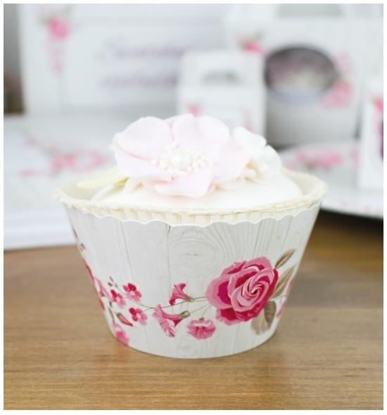 Svatební košíčky na cupcakes - CC2090