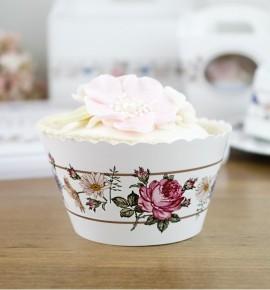 Svatební košíčky na cupcakes - CC2091