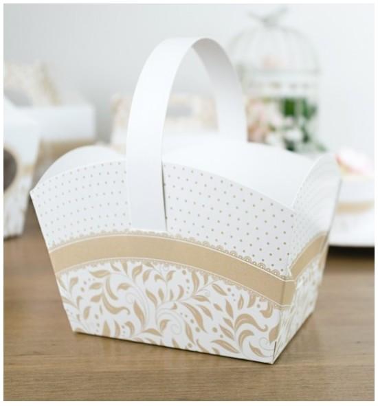 Svatební košíček - KOS1007