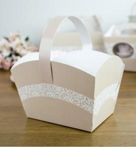 Svatební košíček - KOS2045