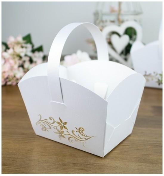 Svatební košíček - KOS910C